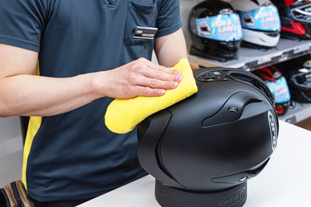 HJCヘルメットご購入時のサービスについて